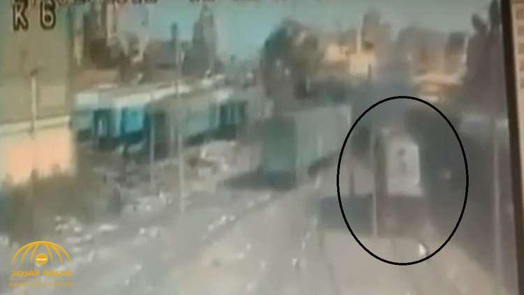 شاهد: المشاجرة التي حدثت بين السائقين المتسببة في الحادث الكارثي داخل محطة مصر