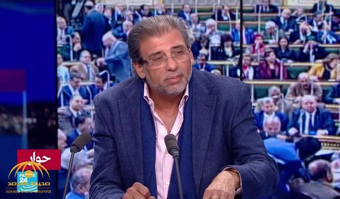 """""""شاهد"""" المخرج """"خالد يوسف""""  خرج عن طوره من فيديوهاته الإباحية.. لا تخالف القانون وهؤلاء من سربوها!"""