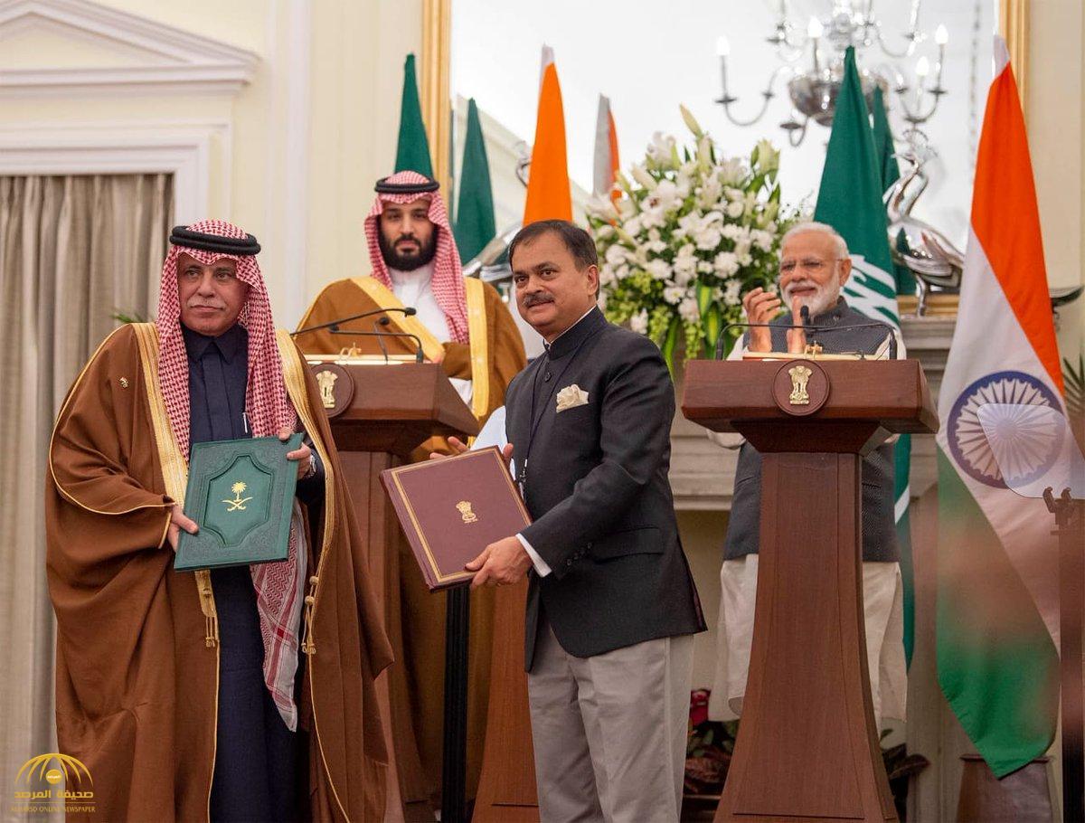 خلال زيارة ولي العهد.. الكشف عن الاتفاقيات الاقتصادية التي وقعتها السعودية مع الهند! -فيديو