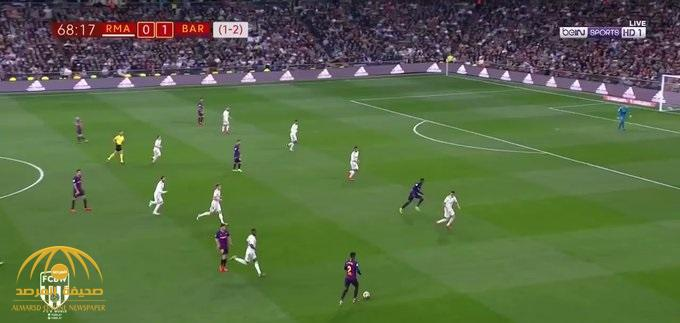 بالفيديو : برشلونة يكتسح ريال مدريد في عقر داره بثلاثية نظيفة.. ويتأهل لنهائي كأس إسبانيا