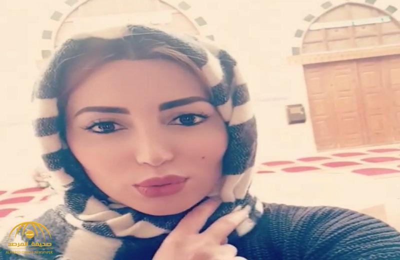 """شاهد  .. الفنانة السورية """"نسرين طافش"""" في حالة تناقض .. تخلع الحجاب وترتدي """" هوت شورت """" !"""