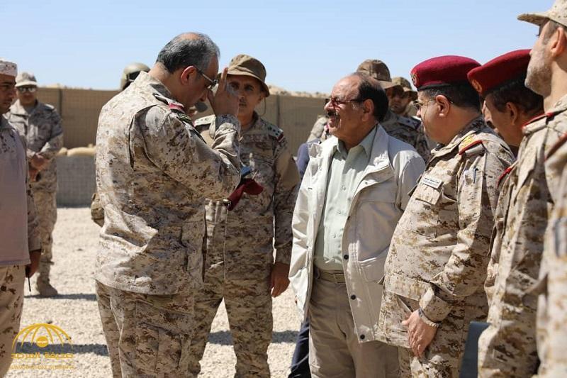 """بالصور .. قائد القوات المشتركة الأمير """"فهد بن تركي"""" في زيارة لمأرب"""