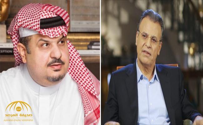 """الإعلامي """"جمال ريان"""" يتهم الأمير """"عبد الرحمن بن مساعد"""" بالأزدواجية بشأن تنظيم قطر لكأس العالم.. والأخير يبرر موقفه!"""
