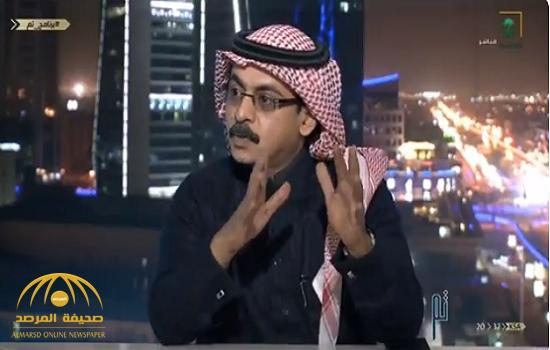 """بالفيديو.. """"العمري"""": يفجر معلومة صادمة عن  100 ألف وظيفة خلال عام.. ويكشف سبب السعودة الوهمية!"""