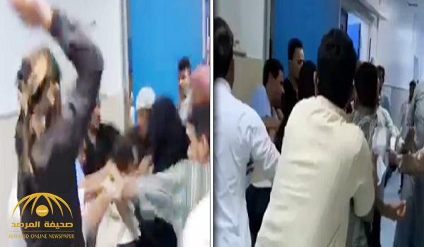 حارس مستشفى بيش يخرج عن صمته ويكشف سبب ضربه من قبل عدد من المراجعين!
