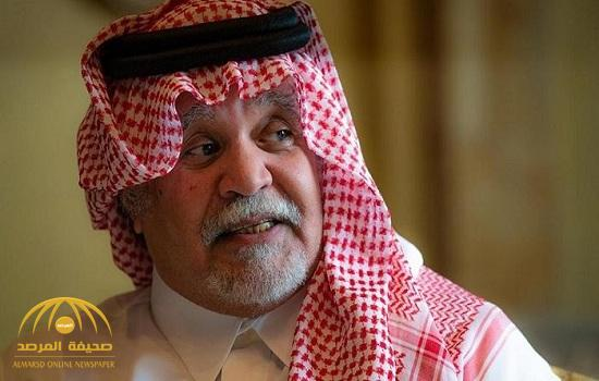 """""""بندر بن سلطان"""" يكشف عن دور السعودية في وقف """"العربدة التركية"""" ضد سوريا عام 1998 وإرسال طائرات  مقاتلة إلى تبوك !"""