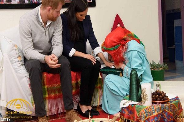 """ميغان ماركل تجلب """"الحظ"""" من المغرب.. والوصفة """"في اليدين""""!"""
