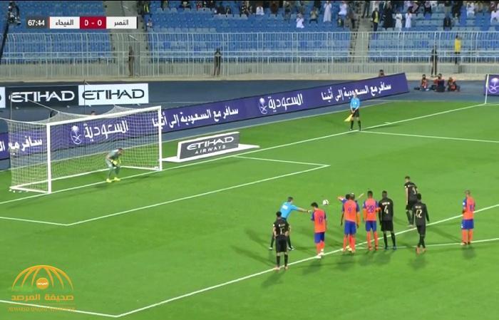 بالفيديو : النصر يفوز بصعوبة على الفيحاء بهدف نظيف