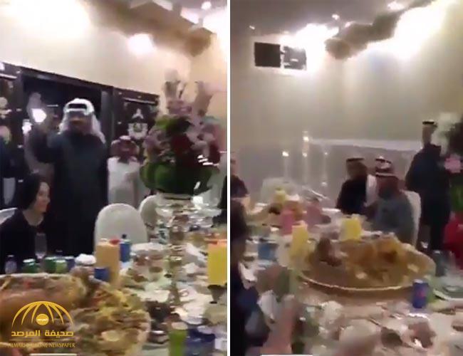 شاهد بالفيديو..مواطن يقيم وليمة كبيرة لكادر مستشفى الملك سلمان في حائل..تثير العديد من ردود الأفعال