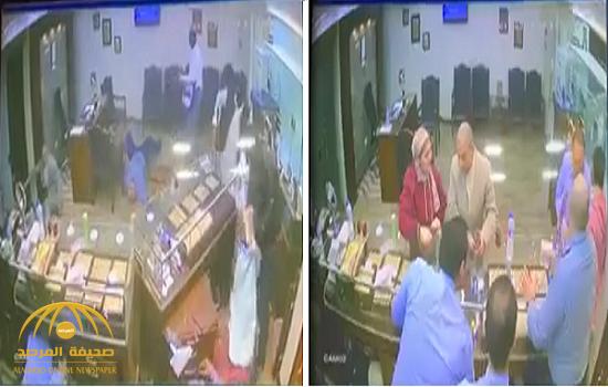 مصر: شاهد .. سطو  مسلح على محل مجوهرات في الجيزة