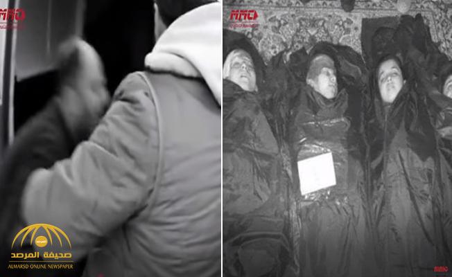 """""""يارب كنت تركلي واحد منهن"""".. شاهد: فيديو مؤثر لأب فقد أبنائه الثلاثة في قصف للنظام السوري!"""