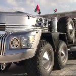 """تعرف بـ """"الوحش""""  .. شاهد : أغرب سيارة يمتلكها أحد أعضاء الأسرة الحاكمة في أبو ظبي"""