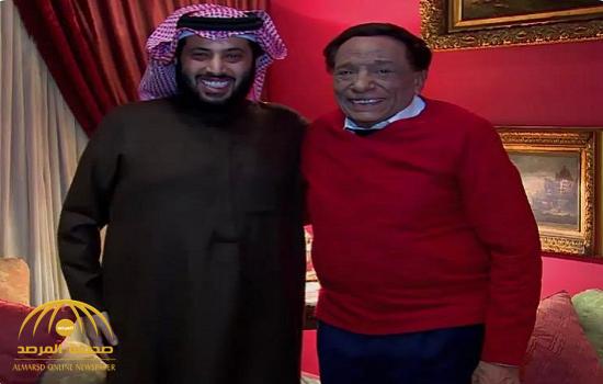 """شاهد.. """"آل الشيخ"""" ينشر صورة حديثة تجمعه مع الفنان """"عادل إمام"""""""