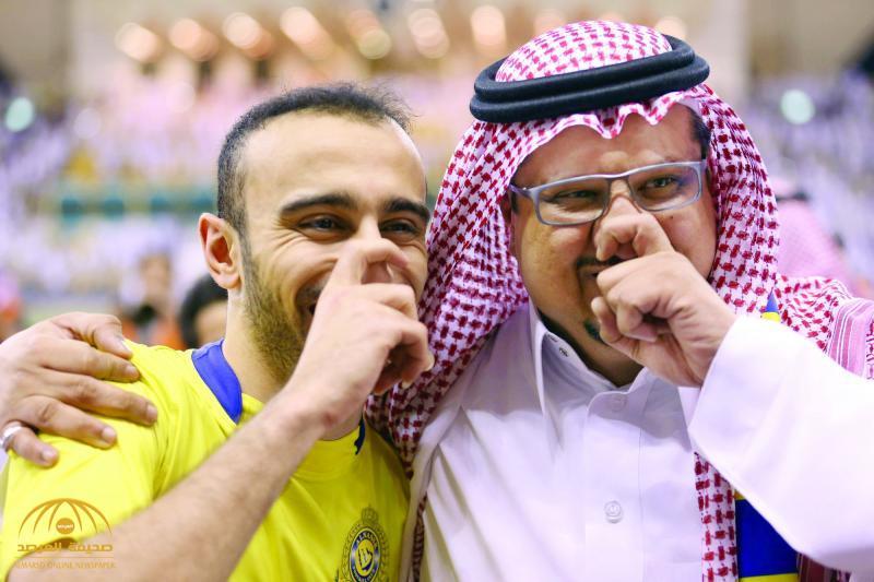 """بقي في نادي النصر أو لم يبق.. فيصل بن تركي يزف بشرى سارة لـ """"السهلاوي""""!"""