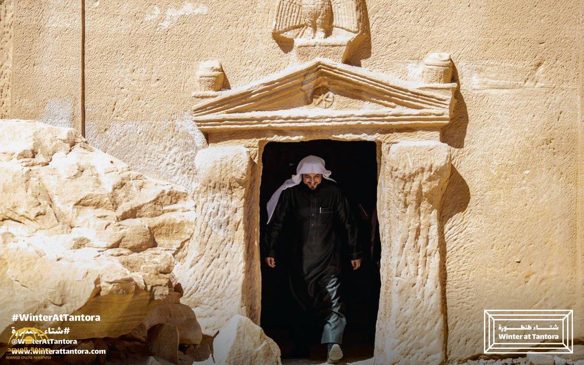 """تجوّل بين قصر الفريد ومسرح مرايا.. شاهد: """"العريفي"""" يزور معالم العلا ضمن """"شتاء طنطورة"""""""