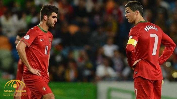 شاهد.. إصابة مروعة تشوه وجه لاعب برتغالي