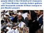 بالصور والفيديو : نيوزيلندا تبث صلاة الجمعة وتقف دقيقتين صمت ورئيسة الوزراء ترتدي الحجاب تضامنا مع المسلمين!