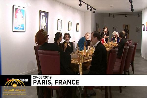 شاهد: عشاء بقائمة طعام من الذهب عيار 24 في باريس!