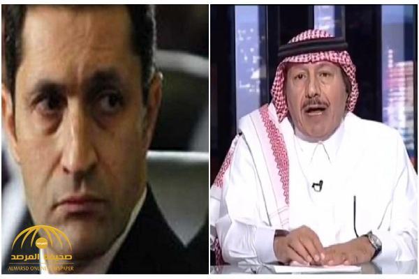"""علاء مبارك يرد على تصريح الإعلامي السعودي  """"إدريس الدريس"""" اعتبرها إساءة لوالده!"""