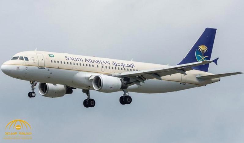شاهد.. واقعة غريبة.. راكبة على متن «الخطوط السعودية» تنسى طفلها بالمطار.. وهكذا تصرف قائد الطائرة!