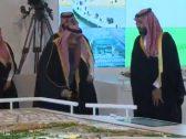 """شاهد.. خادم الحرمين يوجِّه سؤالًا مهمًا لـ""""ولي العهد"""" أثناء تدشين مشروعات الرياض الكبرى!"""