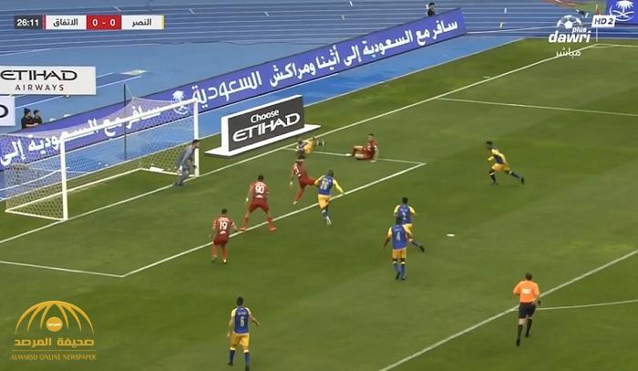 بالفيديو: النصر يقلب الطاولة على الاتفاق ويفوز بثلاثة أهداف مقابل هدفين
