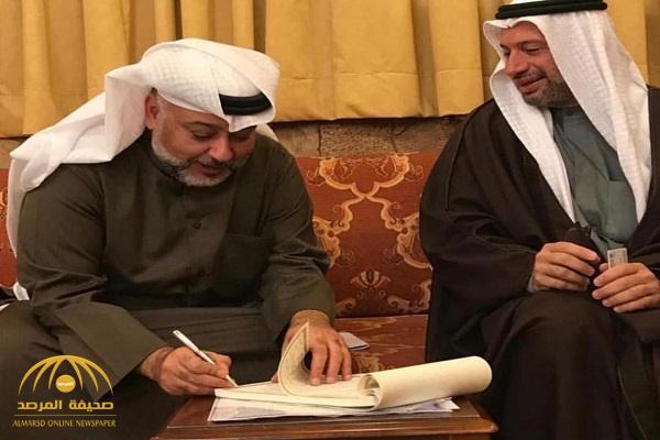 بالصور .. الممثل الكويتي حسن البلام يفاجئ الوسط الفني وجمهوره بعقد قرانه بعد الخمسين
