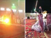 شاهد.. انفجار وإصابات في حفل زواج بمكة .. والسبب سيجارة!