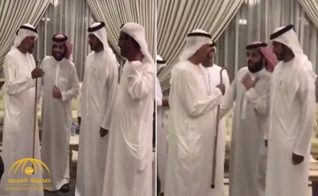 """تركي الدخيل يكشف حقيقة الفيديو المزعوم عن إساءة """"آل الشيخ"""" لممثل رئيس الإمارات"""