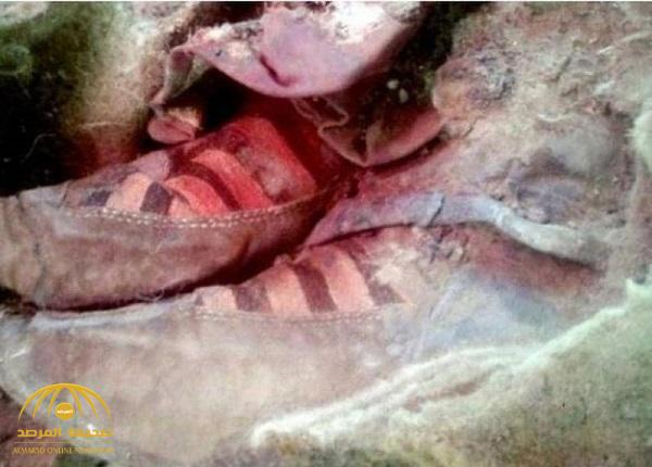 شاهد بالصور .. حذاء مومياء عمرها 1500 عام يثير دهشة علماء الآثار !