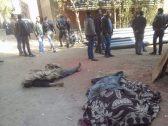 بينهم طفل وأمين شرطة .. شاهد : قتلى وجرحى في إطلاق نار عشوائي بمصر
