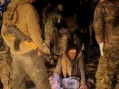 """فضيحة """"جنود الخلافة"""".. شاهد: القبض على """"دواعش"""" داخل أنفاق الباغوز السورية بـ""""لباس نسائي"""""""