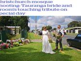 """شاهد عروسان يتزوجان في """"اليوم الأسود"""" بنيوزيلندا .. ويقوما بأمر استثنائي ! – صور"""