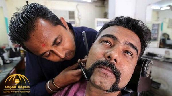 """شاهد .. موضة """"شارب"""" الطيار الهندي المحرر من باكستان تجتاح بلاده"""