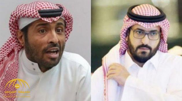 """رئيس الهلال يرد على سعود السويلم : """" آن لأبي حنيفة أن يمد رجليه .. تكلم حتى آراك"""""""