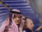 """أول تعليق من الأمير """"فيصل بن تركي"""" بعد إعلان لجنة الانضباط بتغريم """"سعود آل سويلم"""" 600 ألف ريال"""