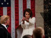 """رئيسة """"النواب"""" الأمريكي تثأر للنائبة المسلمة من ترامب.. وتوجه له انتقادا لاذعا"""