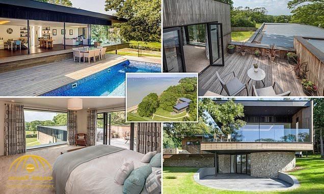شاهد بالصور : عرض منزل فاخر للبيع على الشاطئ في بريطانيا بمبلغ يقل عن ثمنه الحقيقي!