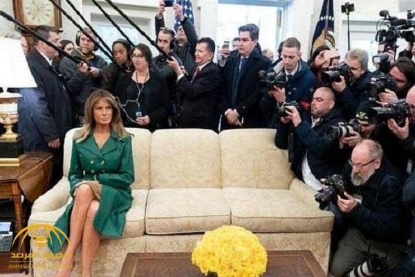 """تعرف على قصة صورة """"ميلانيا والأريكة"""" المثيرة للجدل !"""