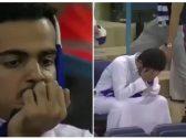 شاهد .. بكاء جماهير الهلال بعد الخسارة التاريخية من التعاون في كأس الملك
