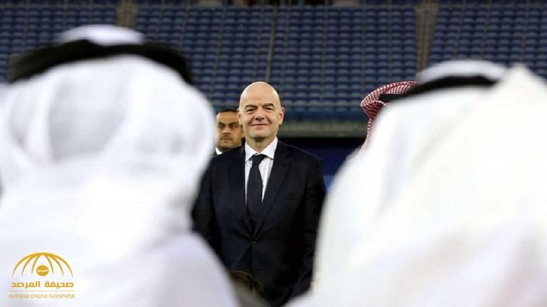 """""""الفيفا وقطر""""  في ورطة بعد رفض الكويت لشروط إقامة مباريات مونديال 2022"""