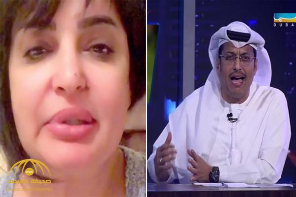 بالفيديو .. بدرية أحمد تكشف عن مفاجأة صادمة بشأن المذيع الإماراتي علي العصيمي !