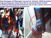 أحدهم كان يبتسم دون مبالاة .. شاهد : لحظة دخول منفذي هجوم فندق شانجريلا بسريلانكا وتفجير حقائبهم الملغومة بين النزلاء