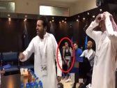 """شاهد حركة """"سالم الدوسري""""  أثناء حديث رئيس الهلال والتي أحدثت ضجة في الوسط الرياضي!"""