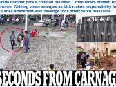 شاهد ..  لحظة دخول الانتحاري الكنيسة فى سريلانكا لتفجيرها