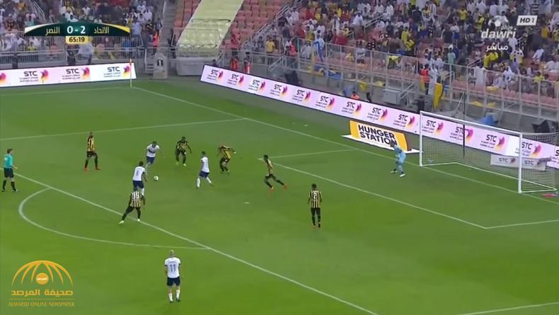 بالفيديو : الاتحاد يحقق فوزا صعبا على النصر في مباراة ماراثونية!