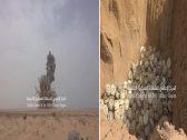 بالفيديو : الجيش اليمني يفجر 7 آلاف لغم حوثي دفعة واحدة في حجة