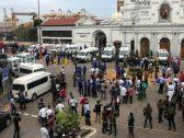 حريق ودمار شامل.. شاهد ما أحدثته 5 انفجارات في كنيسة وفندقين في سيريلانكا!