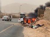 هكذا ودع المشيعون ضحية حادث مركبة «أحد ثربان» إلى مثواها الأخير