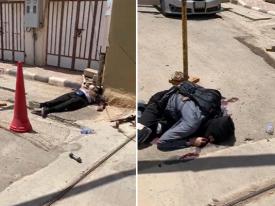 بالفيديو والصور: إحباط هجوم إرهابي على مركز أمني في الزلفي ومقتل أربعة إرهابيين!
